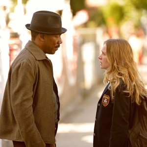 Eddie Murphy and Britt Robertson in Mr. Church
