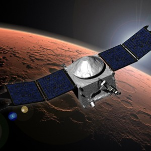 MAVEN Mars satellite, NASA