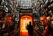 Photos of Nazi Holocaust victims at the US Holocaust Memorial Museum