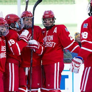 The BU men's hockey team opens 2017 NCAA tournament play today at 3 p.m. in Fargo, N.D., facing the North Dakota Fighting Hawks. The winner will face either Minnesota Duluth or Ohio State in the West Regional Championship tomorrow.