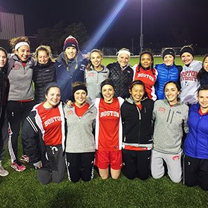 BU Women's Club Soccer group photo