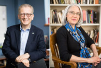 Azer Bestavros and Bonnie Costello have been honored with William Fairfield Warren Distinguished Professorships.