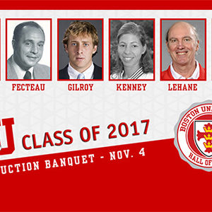 BU Athletics Hall of Fame inductees, 2017