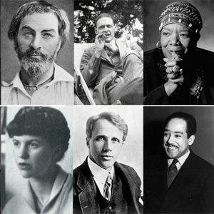 Ten Influential Poets throughout the centuries
