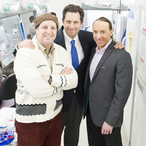 Center for Regenerative Medicine (CReM) founders Gustavo Mostoslavsky, Darrell Kotton, and George Murphy