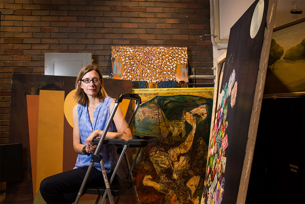 Jodi Cranston, Professor of Renaissance art at Boston University and founder of historical art research website mappingpaintings.org