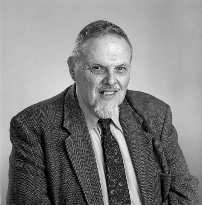 Bernard Chasan, College of Arts and Sciences physics professor (joined the department in 1962; was chair from 1983-85). Photo by Kalman Zabarsky