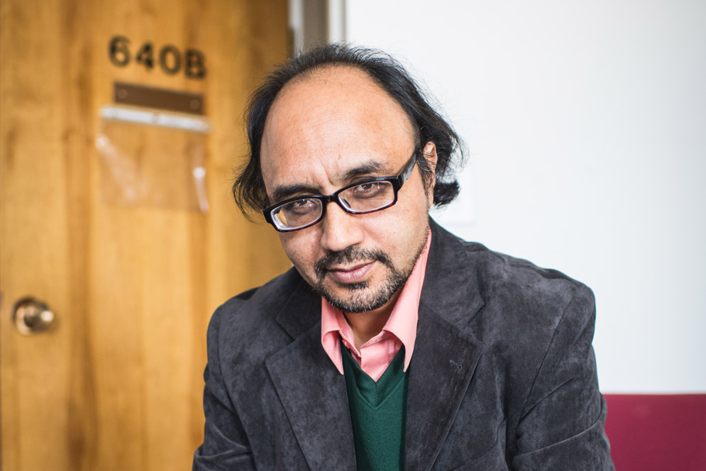 research fellow Sayed Hassan Akhlaq