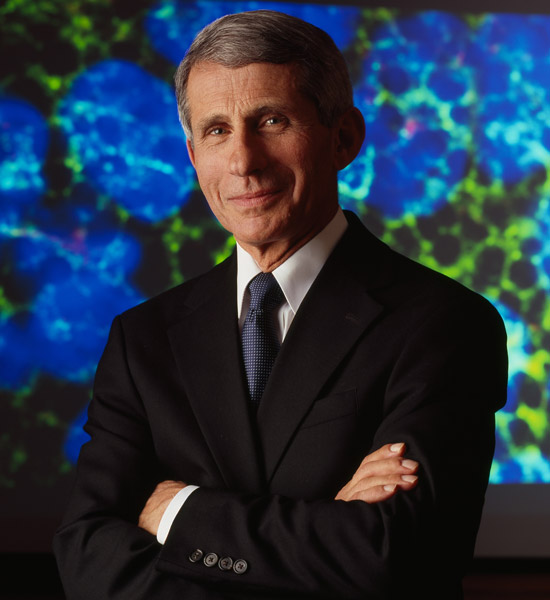 BU will confer on Anthony Fauci, the director of the National Institute of Allergy and Infectious Diseases, a Doctor of Science—his 44th honorary degree. Photo courtesy of National Institute of Allergy and Infectious Diseases