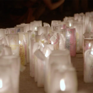 Still image from the documentary film Paper Lanterns directed by Max Esposito, about 12 Vietnam POWs.