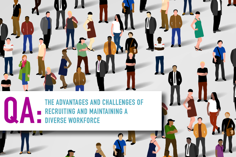 QA Diversity in the Workplace Banner