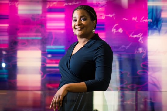 Malika Jeffries-EL, associate professor of chemistry at Boston University College of Arts and Sciences