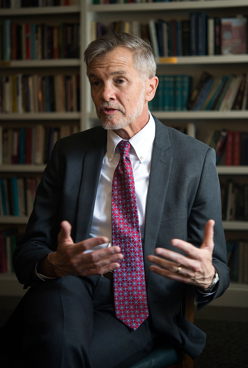 Portrait of David Chard, interim dean of Boston University Wheelock College of Education and Human Development