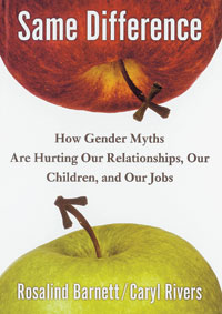 Cover of Same Difference: How Gender Myths Are Hurting Our Relationships, Our Children, and Our Jobs