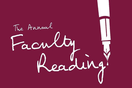 Boston University Creative Writing Program annual Faculty Reading