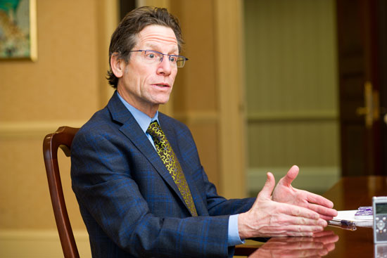 Professor Daniel Lee Kleinman, Associate Provost for Graduate Affairs