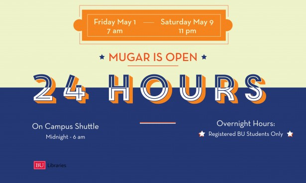 Mugar Open 24 Hours