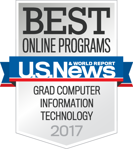 U.S. News & World Report Best Online Programs in Grad Computer Information Technology 2017