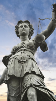 Picture of Justice Statue in Germany