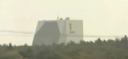 PAVE PAWS Radar Station (from WBZ broadcast)