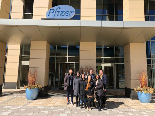 BUSCASA Corporate Visit to Pfizer