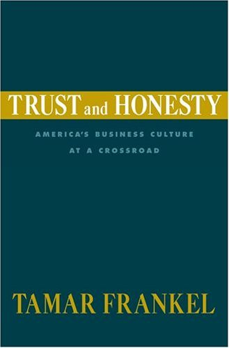 Cover: Trust and Honesty