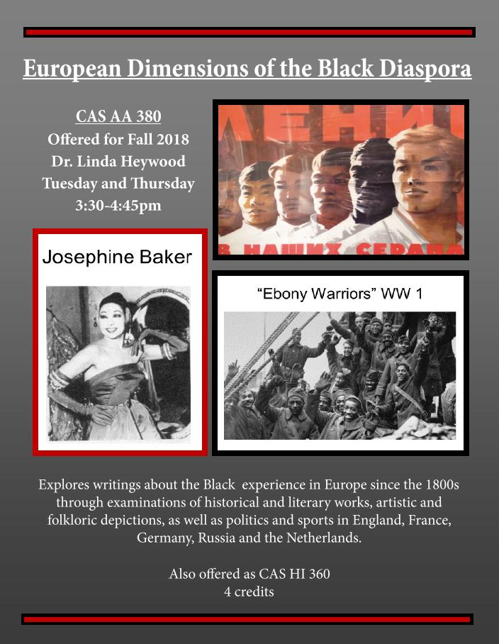 News African American Studies Boston University