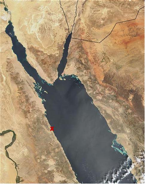 WG satellite image