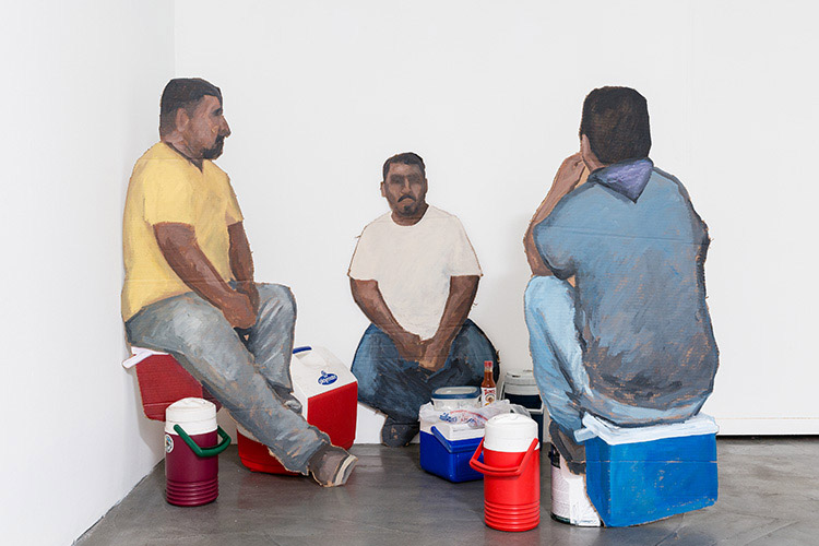 Ramiro Gomez, Laborers at Lunch, 2015