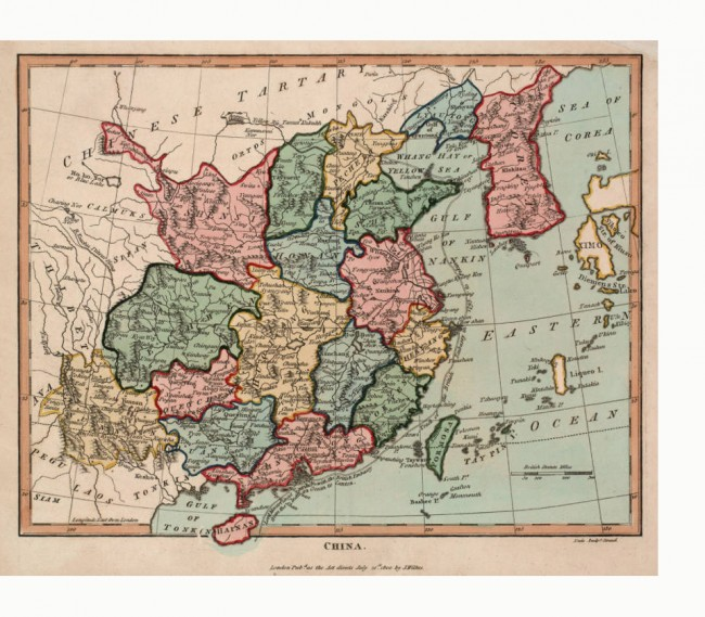 China On Map Of Asia.Asia Maps Digital Collections Center For The Study Of Asia