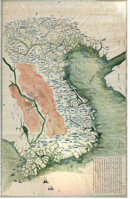 Asia maps digital collections center for the study of asia vietnam yuenan quan jing yu tu sciox Images