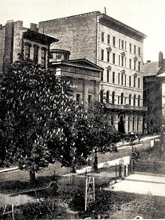 The Omni Parker House Located On Park St Boston