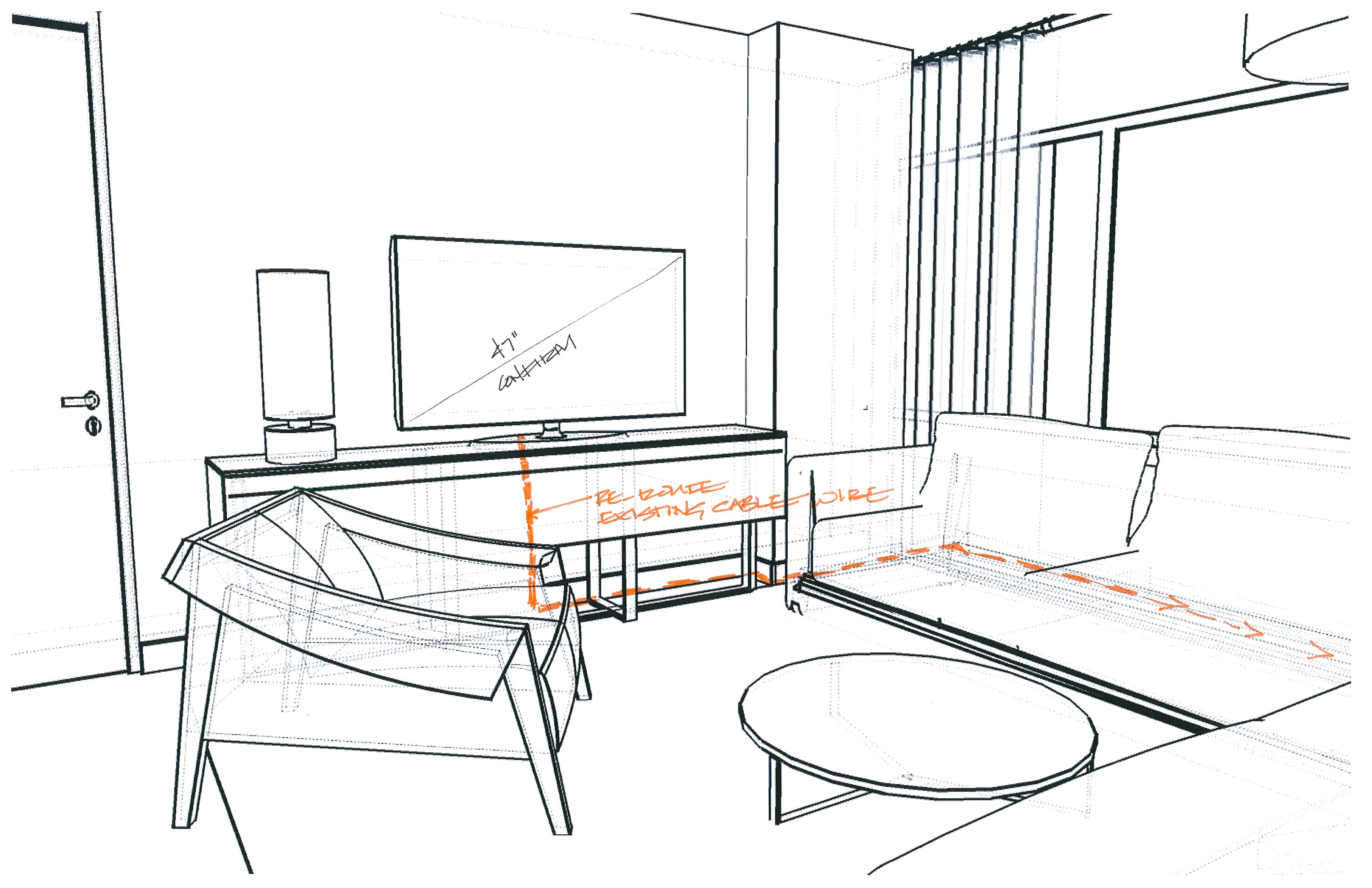 Tv Furn Sketch2