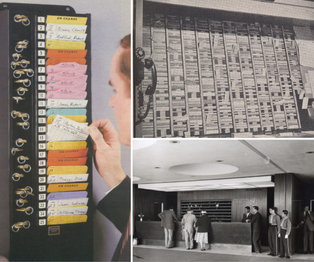 A Fragment of the Past: The System of Hotel Front Office Racks