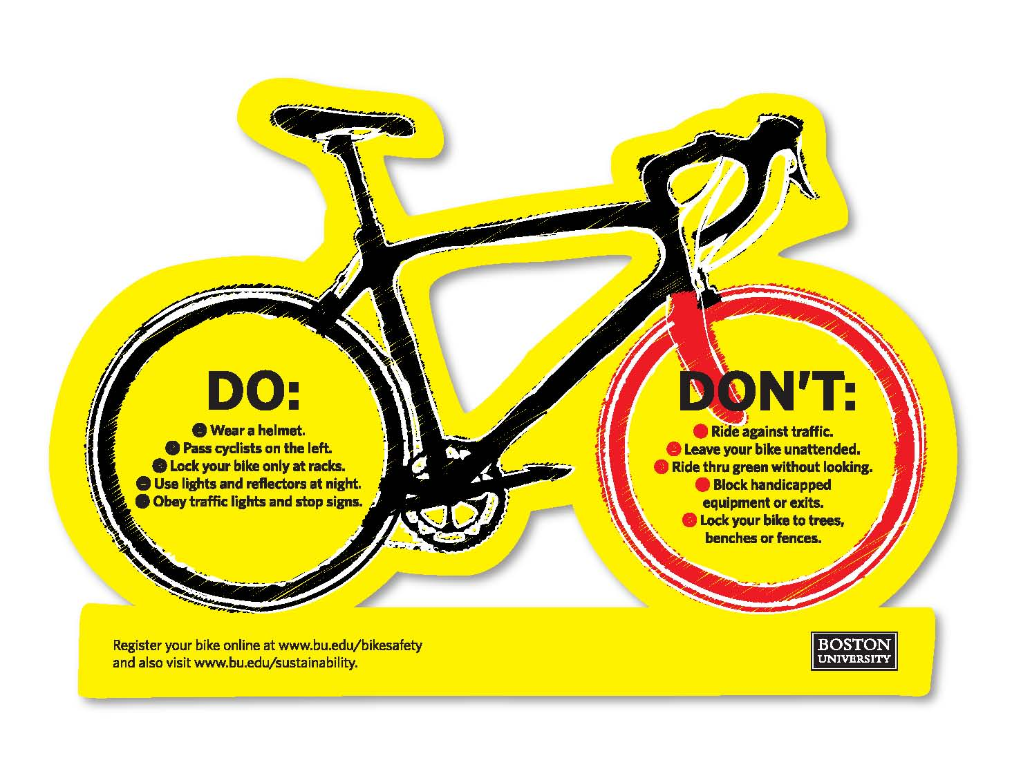 Safety Campaigns 187 Bike Safety Boston University