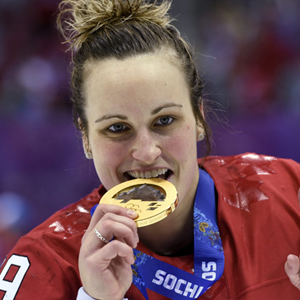 Boston University BU, athletics womens hockey, team canada, Sochi winter olympics 2014, gold metal, Marie-Philip Poulin, Catherine West, Jenn Wakefield, Tata Watchorn, Sochi Olympics Ice Hockey Women