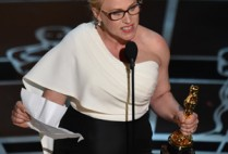 Patricia Arquette at the 2015 Oscars