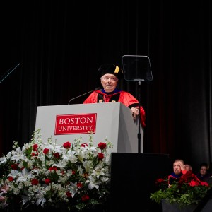 Metropolitan College convocation speaker Jacques Pepin