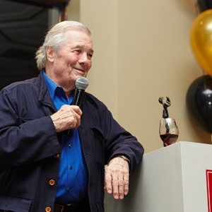 Metropolitan College, celebrating its 50th anniversary, fetes longtime MET faculty member and culinary icon Jacques Pépin (Hon.'11), who at age 80 has a new PBS show and accompanying book. Photos by Dave Green