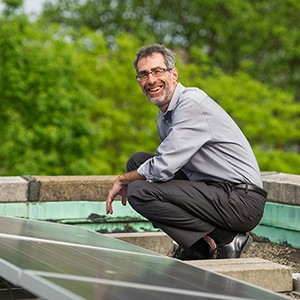 Robert Kaufmann, professor of earth and environment