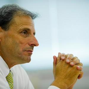 Kenneth Lutchen, dean of the Boston University College of Engineering.