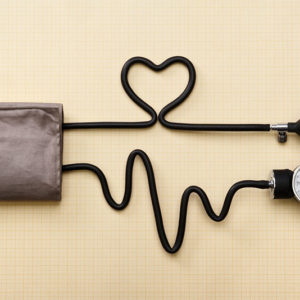 sphygmomanometer for measuing blood pressure