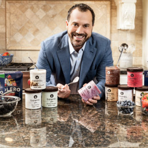 Josh Hochschuler (Questrom'95) founded Talenti as a brick-and-mortar shop in 2003 and sold the brand to Unilever in 2014. His newest venture is Solero, a line of frozen fruit bars. Photo by Terri Glanger