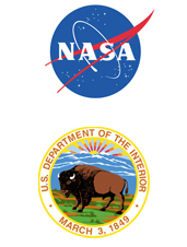 NASA and Dept of Interior Logo