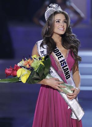 Miss Universe  Winner Rhode Island