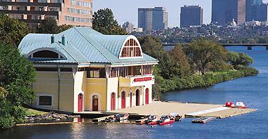 Boston university crew boathouse