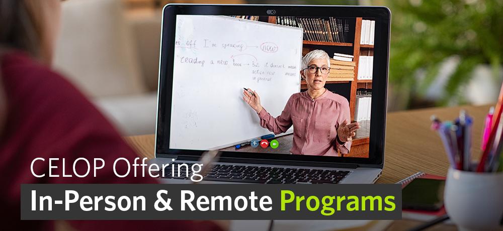CELOP Offering Summer Remote Programs