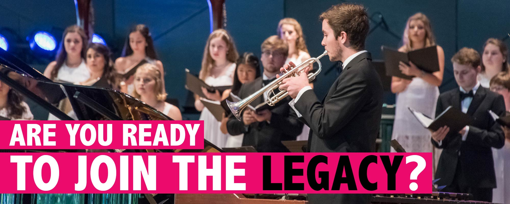 Are you ready to join the legacy? Apply and audition.