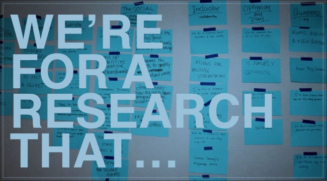 Research that...