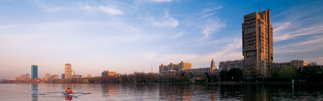 BU from the Charles River